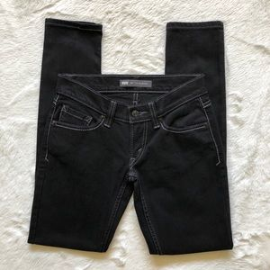Levi's 524 Too Superlow Skinny Jeans 0 Short Curvy